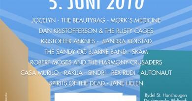 Plakat for Musikkfest på Deichmanske Bibliotek