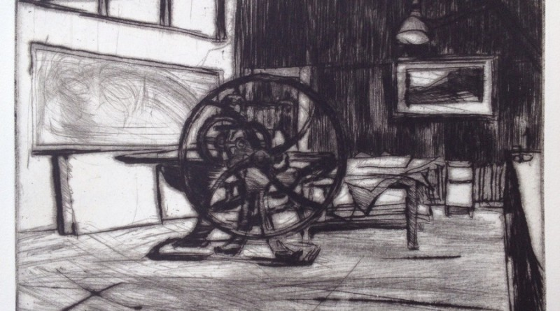 The old intaglio press