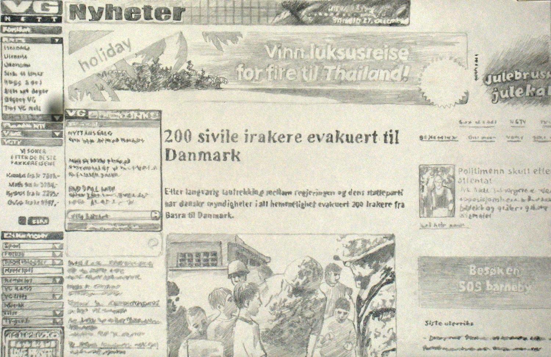 200 sivile irakere evakuert til Danmark