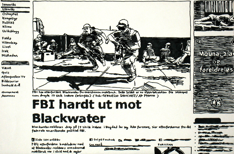 FBI hardt ut mot Blackwater
