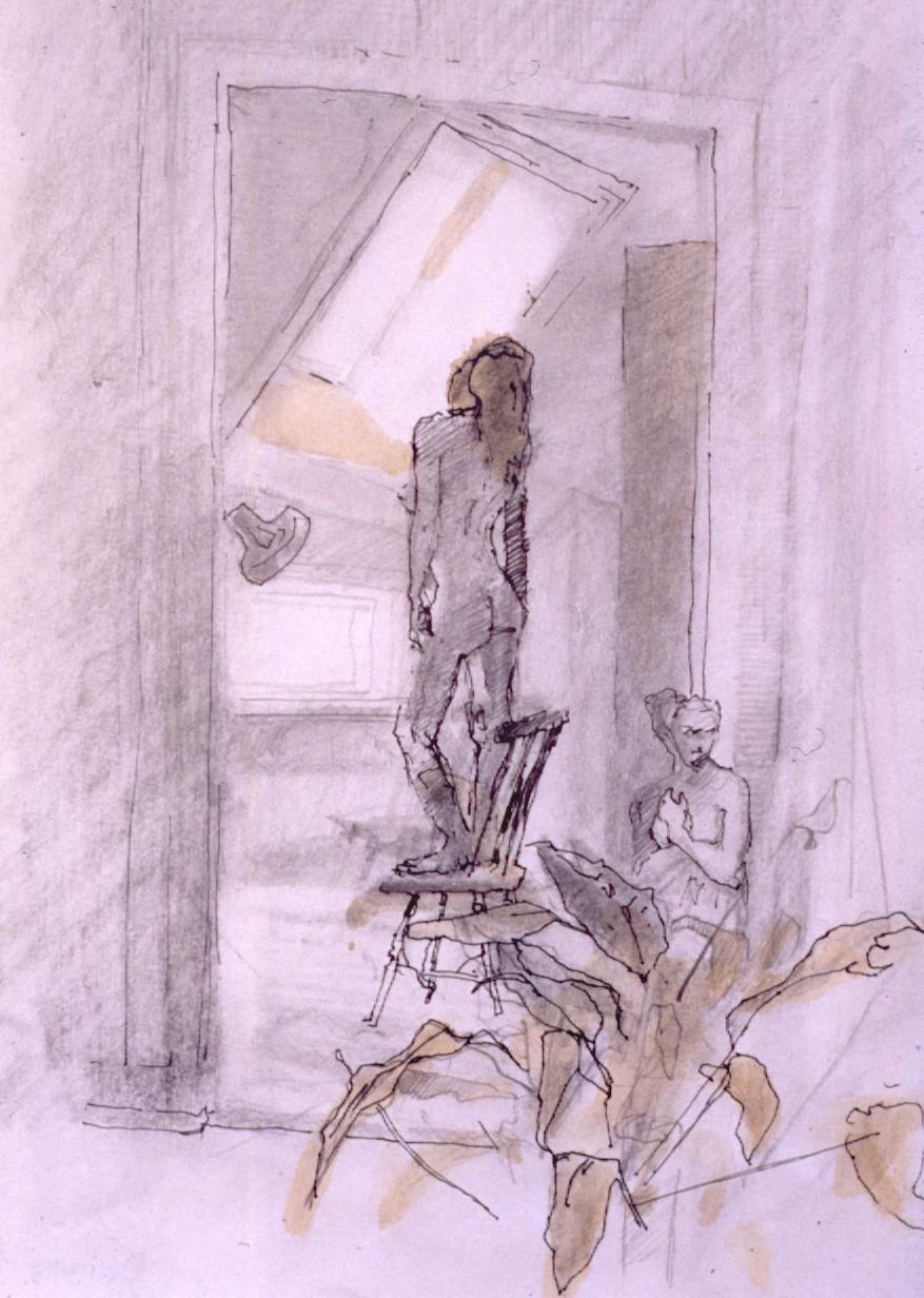kvinne i rom (Linda)