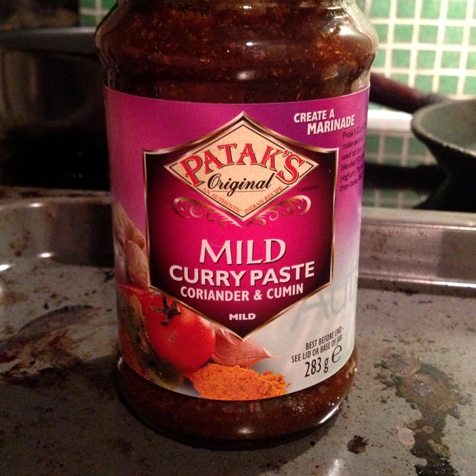 Curry paste with coreander and cumin. The one and only