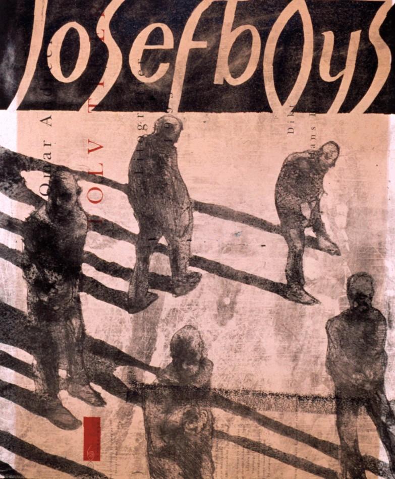 Josef Boys poster. Design: Benjamin Bergman and Richard Nygård