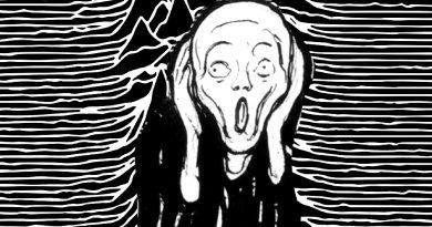 Munch + Unknown Pleasures
