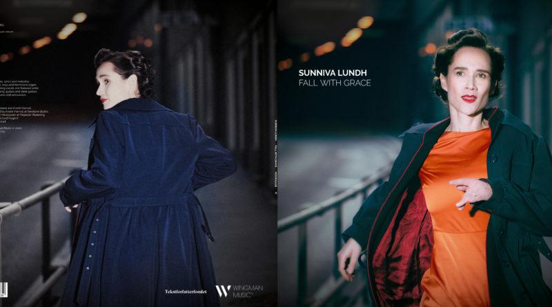 Sunniva Lundh - Fall With Grace album cover. Photo: Bjørn Molstad.
